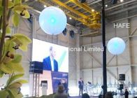 Bobo LED Helium Balloon Lights For Big Space Decoration , Outdoor Balloon Lights