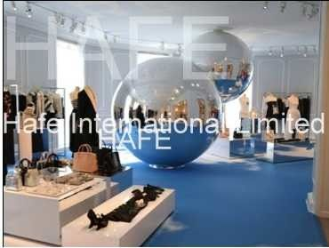 Custom Giant Festival Inflatable Event Structures 1.5 M PVC Mirror Ball Event Decoration Balloon