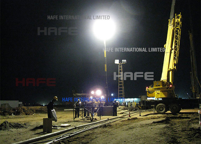 Road Paving Site Glare Free Balloon Lights In LED / Tungsten / HMI Fit Road Paving Site