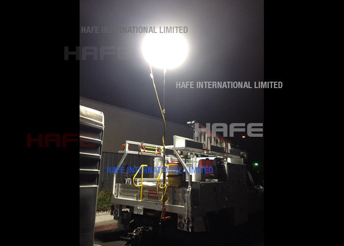 Railway Mining Safety Backpack Balloon Lights In Tungsten Halogen /  LED / HMI