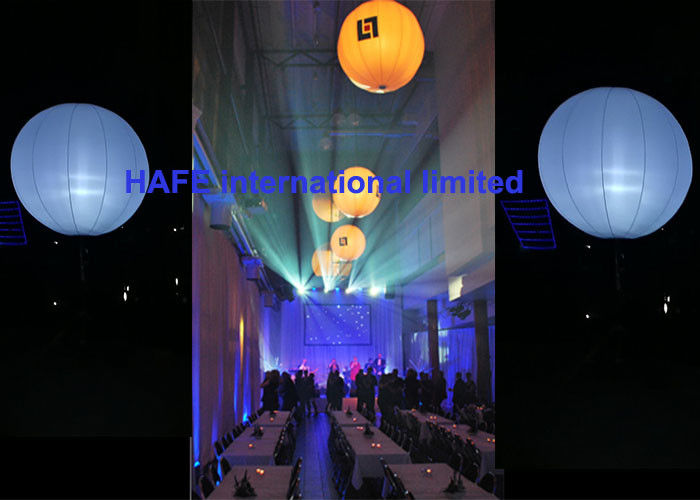 1.6M Diameter Balloon Inflatable Lighting Decoration DMX512 Control Option